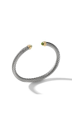 Cable Classics Collection® Bracelet With Peridot And 14K Gold product image