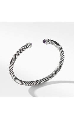 Cable Classics Bracelet With Amethyst And Diamonds, product image
