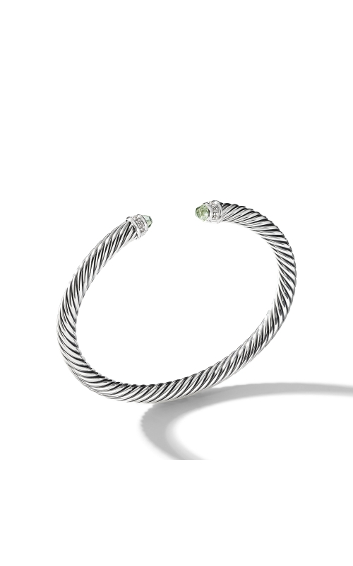 Cable Classics Bracelet with Prasiolite and Diamonds product image