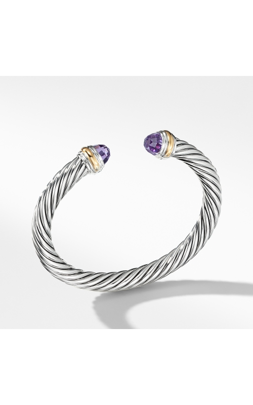 Cable Classics Collection® Bracelet with Amethyst and 14K Gold product image