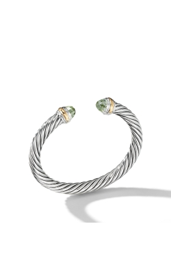 Cable Classics Collection® Bracelet With Prasiolite And 14K Gold product image