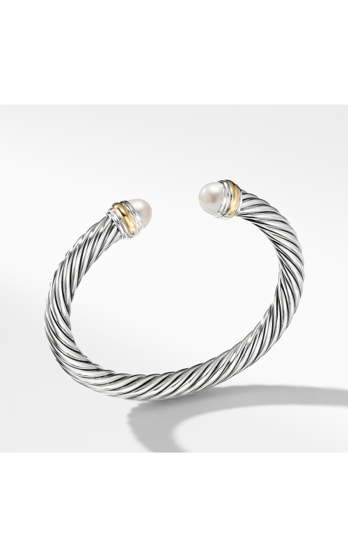 Cable Classics Collection® Bracelet with Pearl and 14K Gold product image