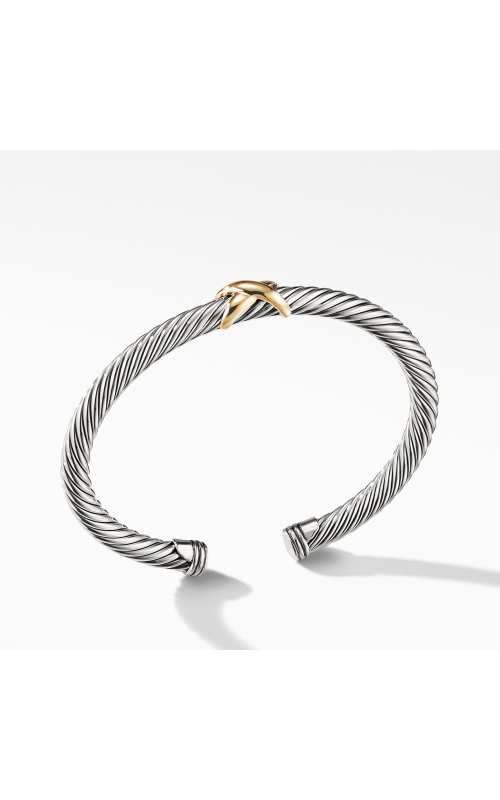 X Bracelet with Gold product image
