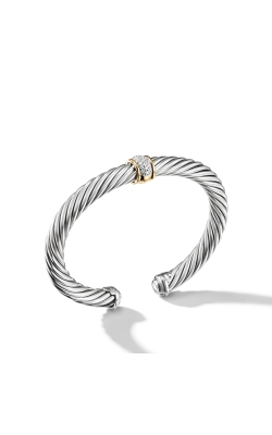 Cable Classics Collection® Bracelet With Diamonds And 18K Gold product image