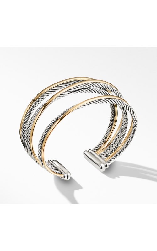 Four-Row Cuff Bracelet with Gold product image