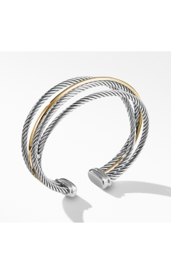 Crossover Three-Row Cuff With Gold product image