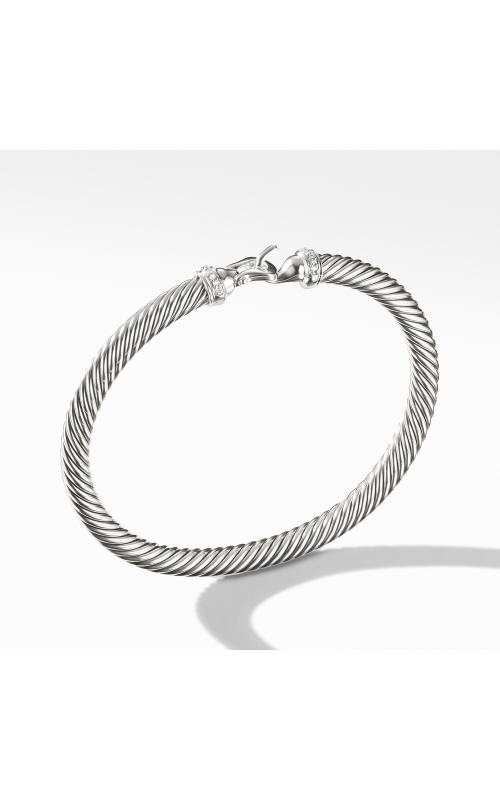Cable Buckle Bracelet with Diamonds product image