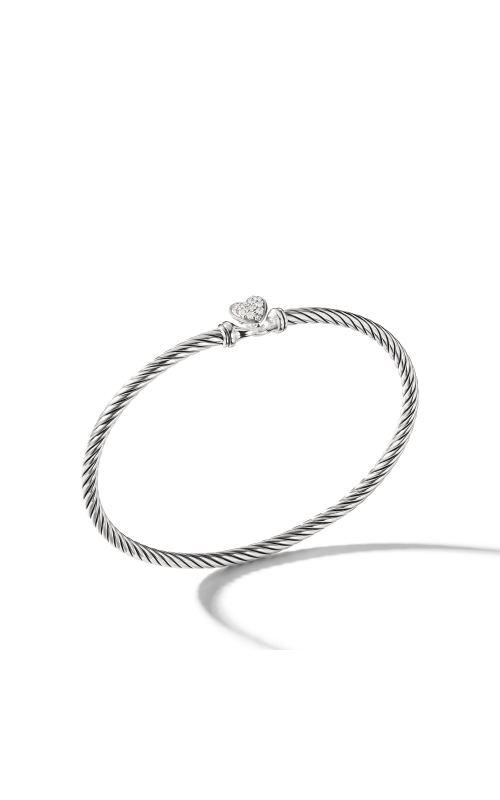 Cable Collectibles Heart Bracelet with Diamonds product image