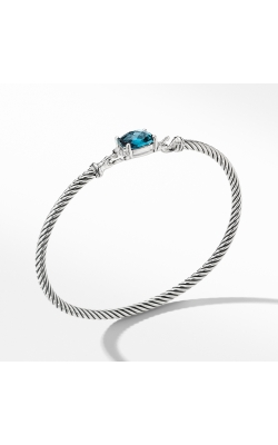 Petite Wheaton Bracelet With Hampton Blue Topaz And Diamonds product image