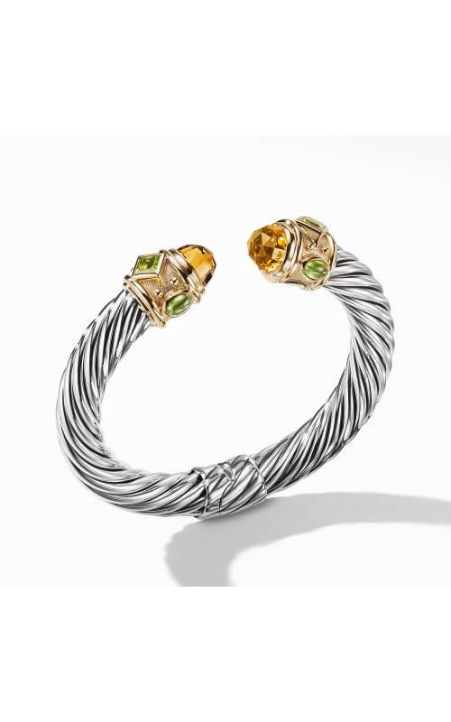 Renaissance Bracelet with Citrine, Peridot, and Gold product image