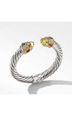 Renaissance Bracelet With Lemon Citrine,Blue Topaz, Rhodalite Garnet And 14K Gold product image