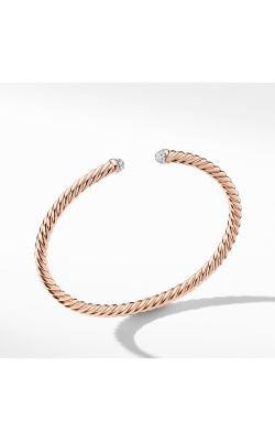 Petite Precious Cable Bracelet With Diamonds In Rose Gold product image
