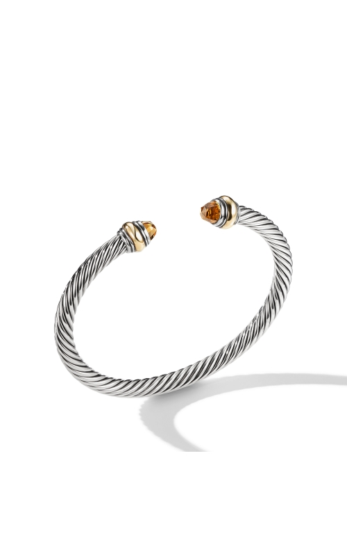 Cable Classic Bracelet with Citrine and Gold product image