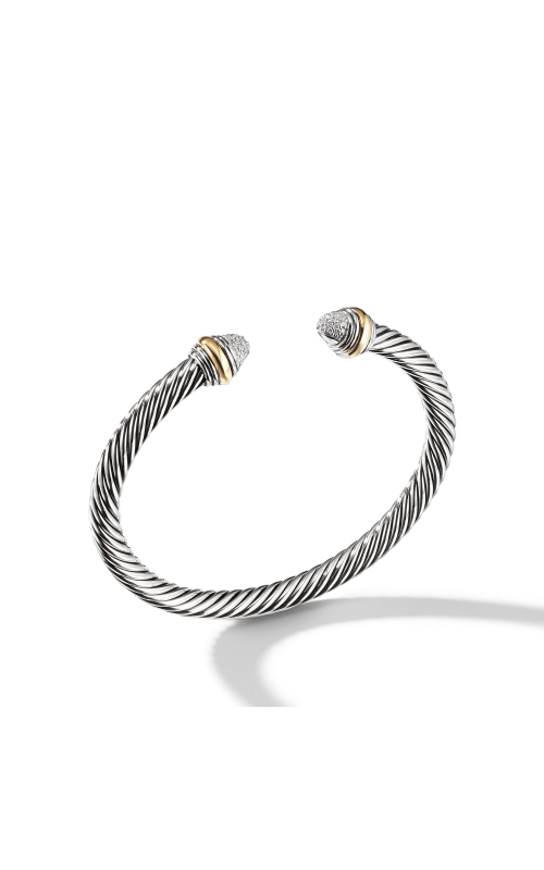 Cable Classics Collection® Bracelet with Diamonds and 14K Gold product image