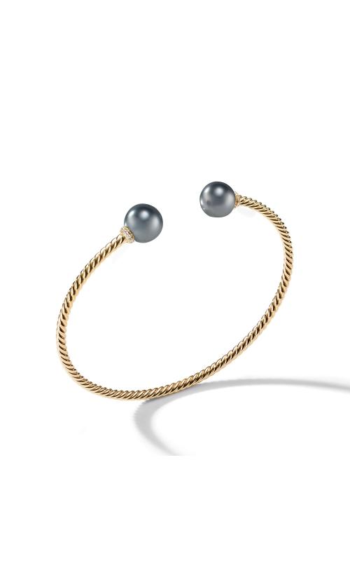 Solari Bead Bracelet with Tahitian Grey Pearl in 18K Gold product image