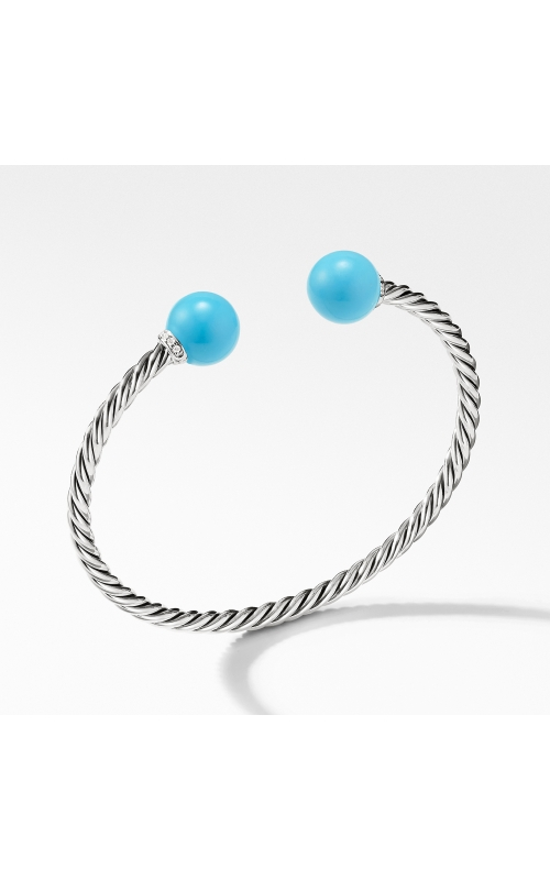Solari Bracelet with Diamonds and Reconstituted Turquoise product image