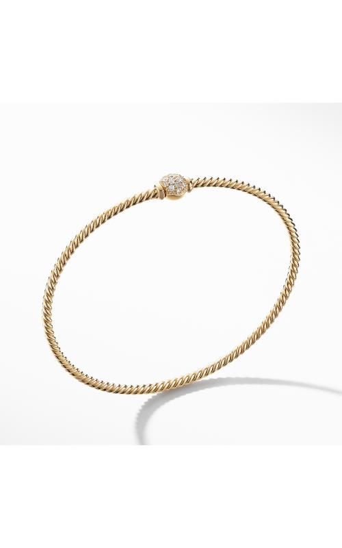 Petite Solari Station Pave Bracelet with Diamonds in 18K Gold product image