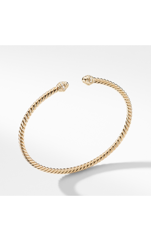 Cable Spira® Bracelet in 18K Gold with Diamonds product image