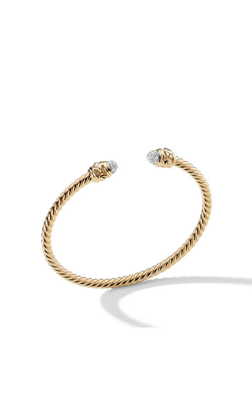 Renaissance Bracelet with Diamonds in 18K Gold, 3mm product image