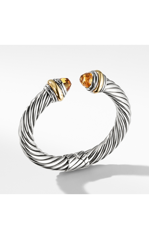 Cable Classics Bracelet with Citrine and 14K Gold, 10mm product image