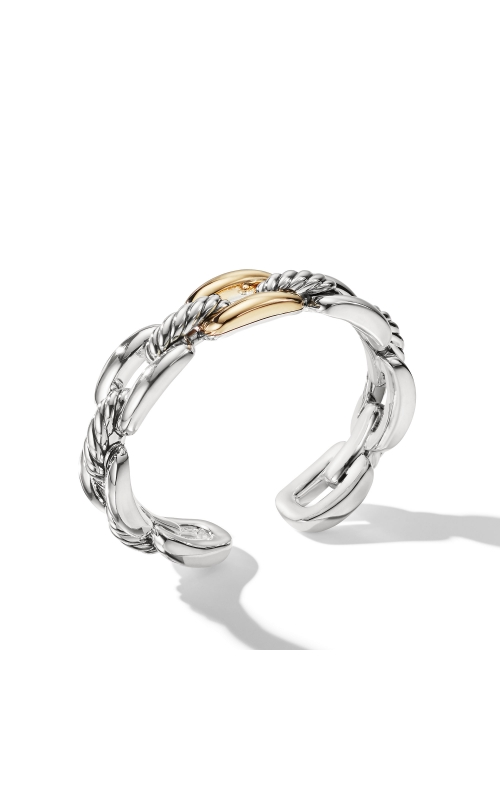 Wellesley Link Single Stack Bracelet with 18K Gold product image