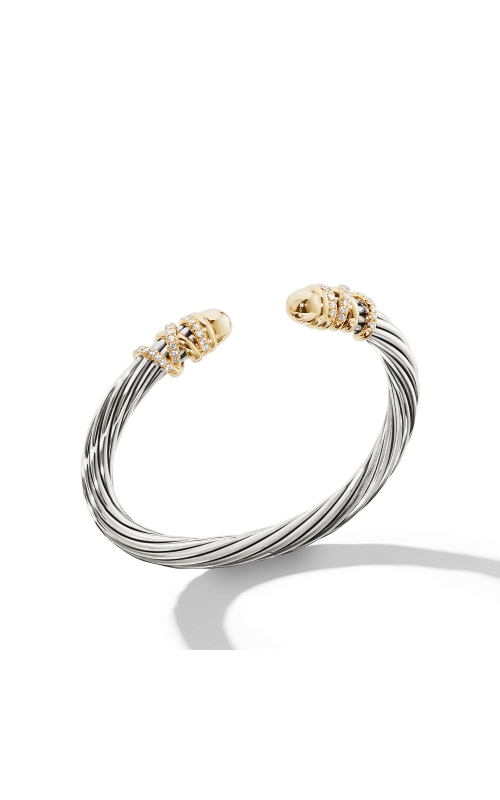 Helena Bracelet with Gold Dome and Diamonds product image