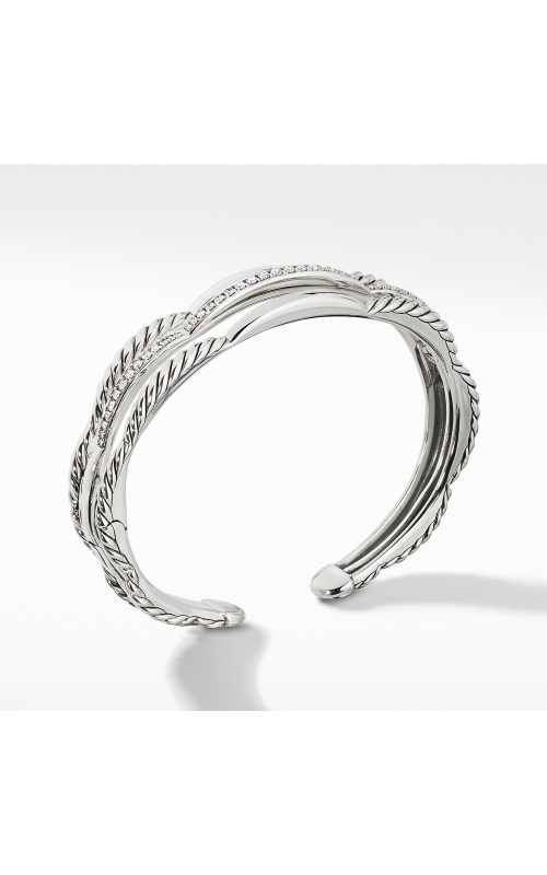 Tides Three Row Cuff Bracelet with Diamonds product image
