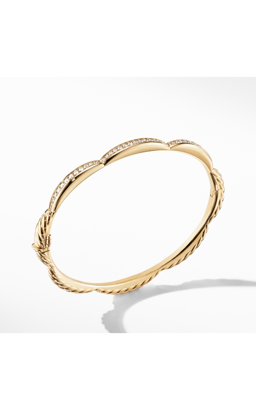 Tides Three Station Bracelet in 18K Yellow Gold with Diamonds product image