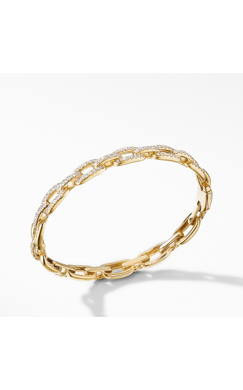 Stax Chain Link Bracelet with Diamonds in 18K Yellow Gold product image