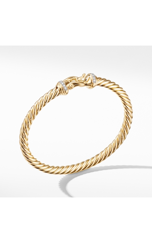 Buckle Bracelet in 18K Yellow Gold with Diamonds product image
