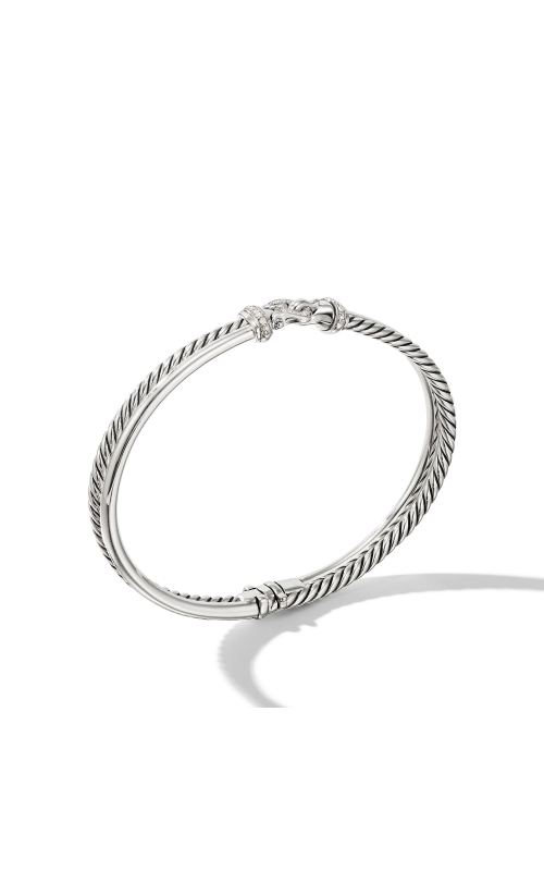 Two-Row Buckle Bracelet with Diamonds product image