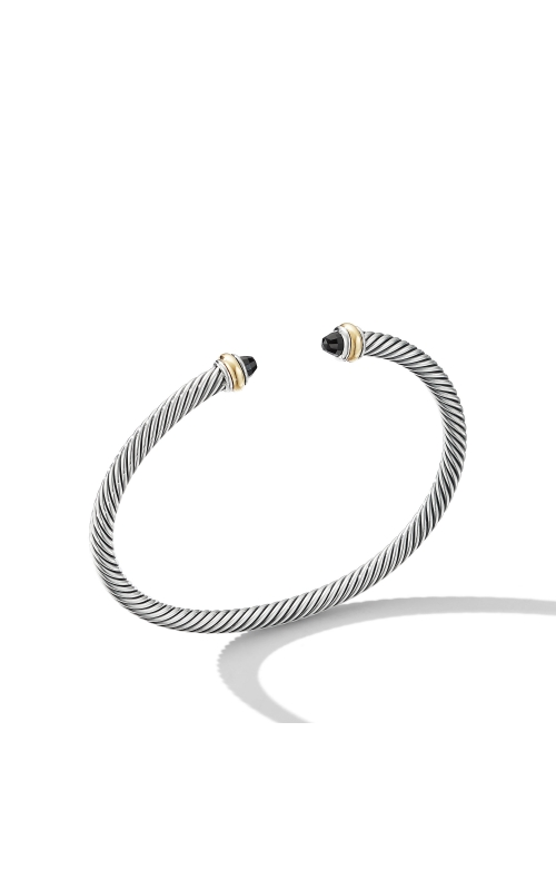 Cable Classic Bracelet with Black Onyx and 18K Yellow Gold product image