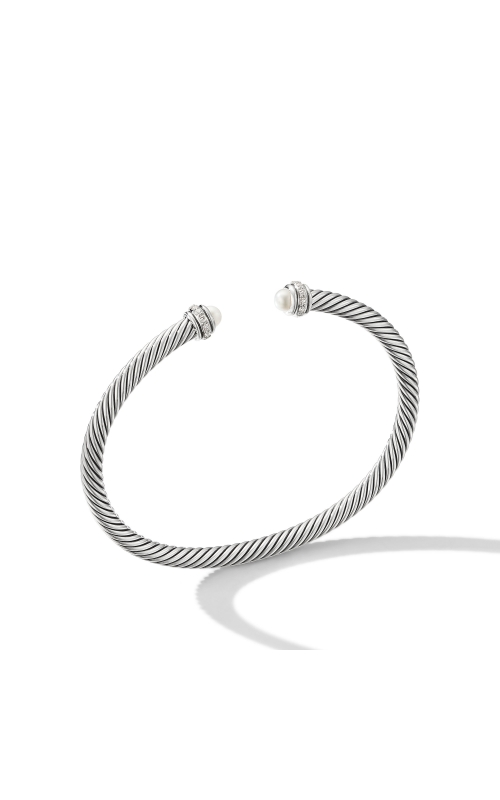 Cable Classic Bracelet with Pearls and Diamonds product image