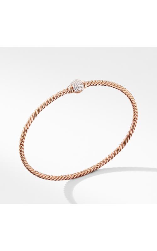 Solari Center Station Bracelet in 18K Rose Gold with Diamonds product image
