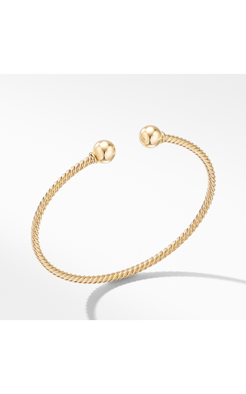 Solari Bracelet in 18K Yellow Gold with Gold Domes product image
