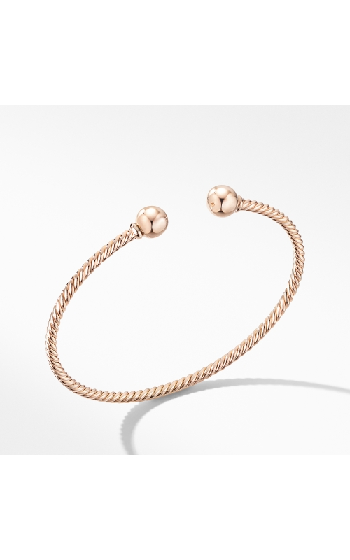 Solari Bracelet in 18K Rose Gold with Gold Domes product image