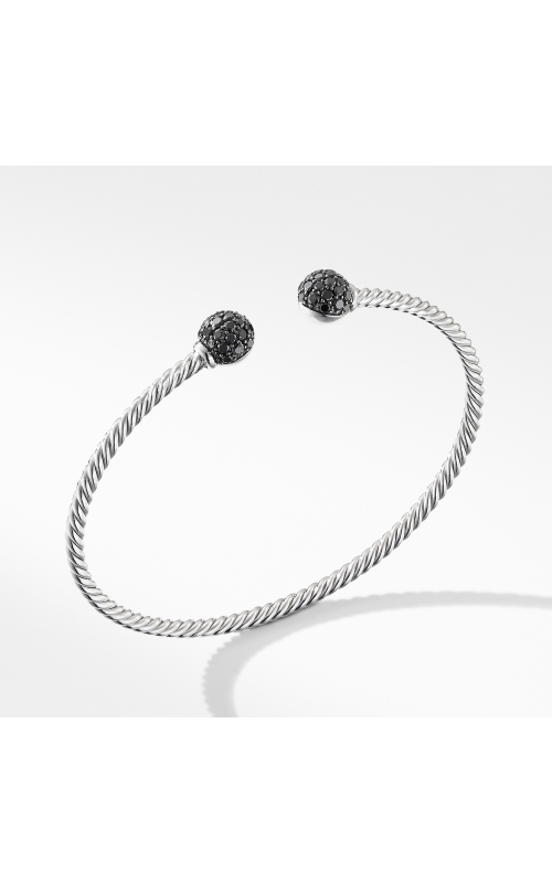 Solari Bracelet in 18K White Gold with Black Diamonds product image