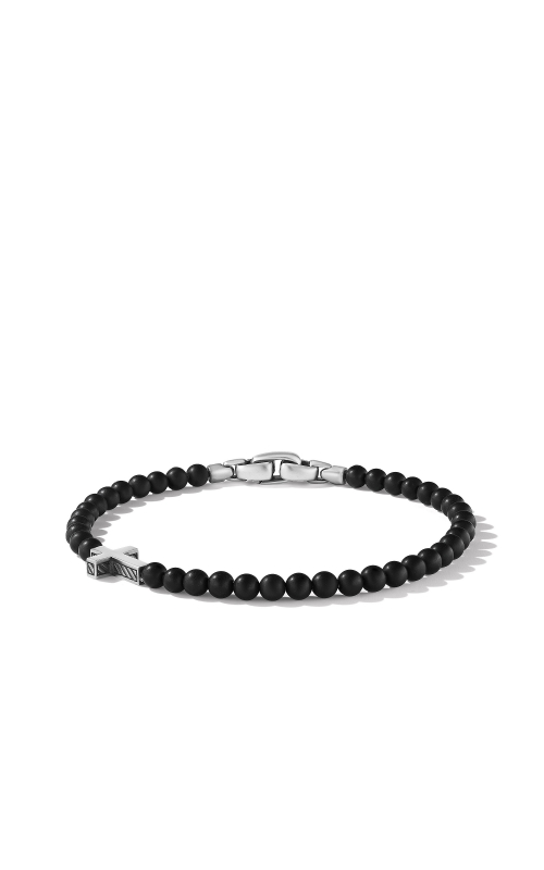 Spiritual Beads Cross Station Bracelet with Black Onyx product image