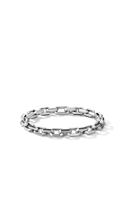 Heirloom Chain Link Bracelet with Pavé Black Diamonds product image