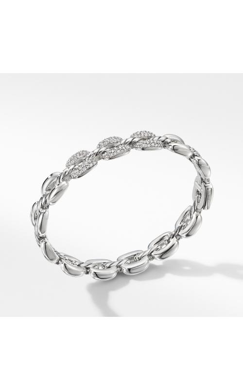 Thoroughbred® Cushion Link Bracelet with Diamonds product image