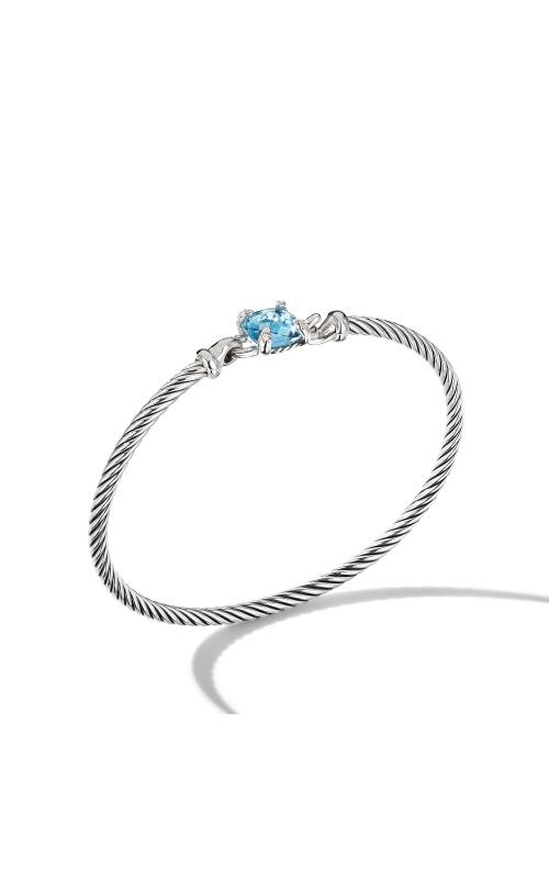 Chatelaine® Bracelet with Blue Topaz and Diamonds product image