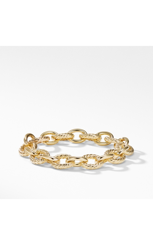 Oval Large Link Bracelet in Gold product image