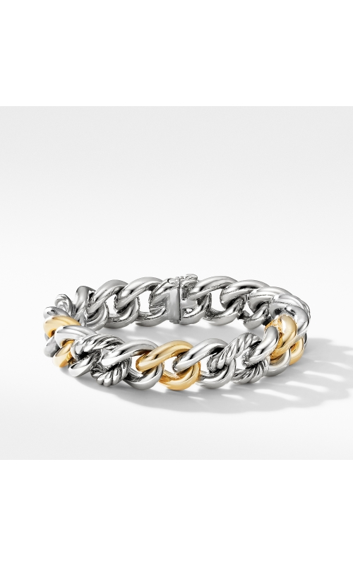 Curb Chain Bracelet with 14K Yellow Gold product image