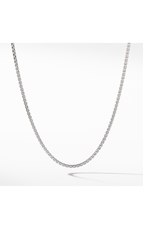 Small Box Chain Necklace with Gold product image