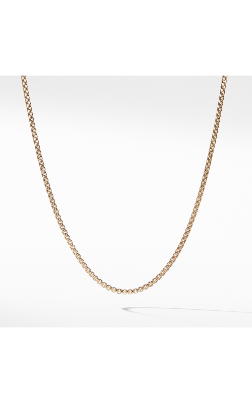 Small Box Chain in Gold product image