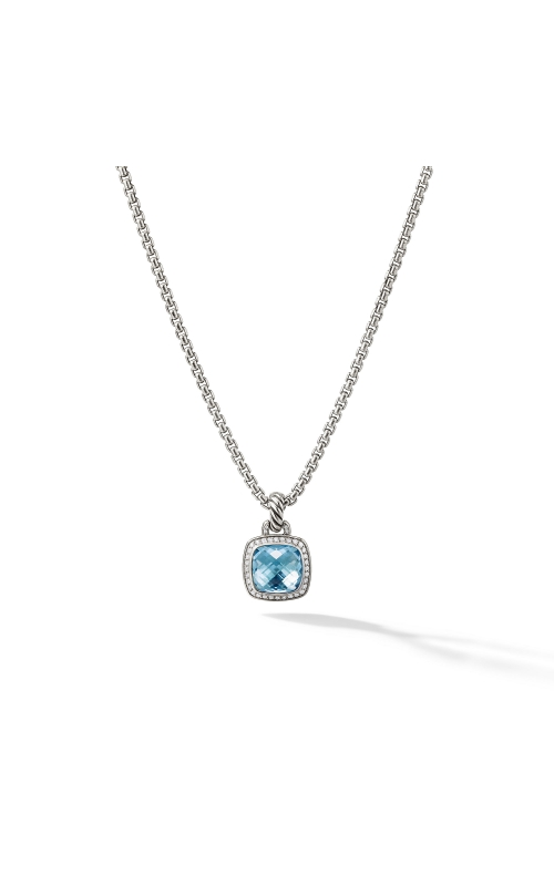 Albion® Pendant with Blue Topaz and Diamonds product image
