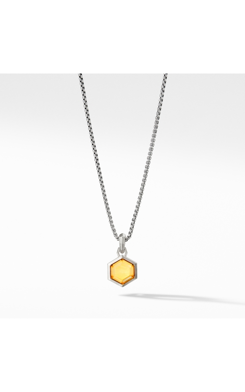 Hexagon Cut Amulet with Citrine product image