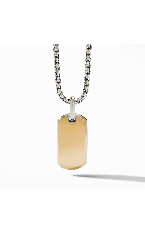 Streamline® Tag with 18K Yellow Gold product image
