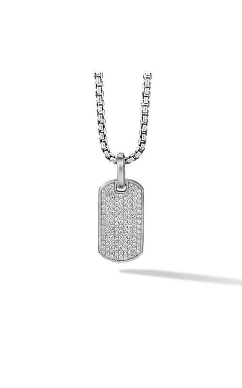 Streamline® Tag with Pavé Diamonds product image