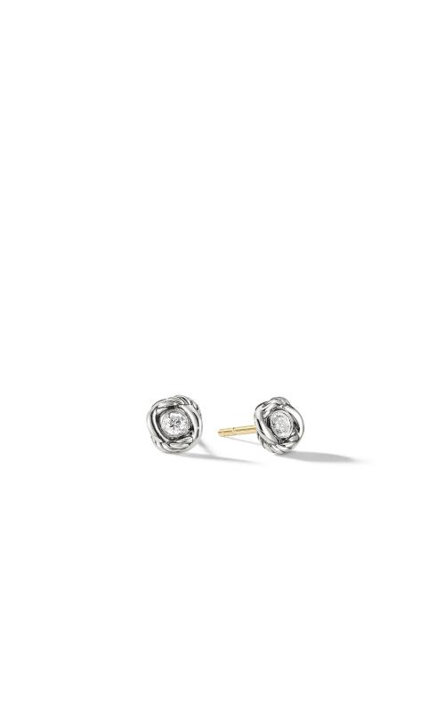 Infinity Earrings with Diamonds product image